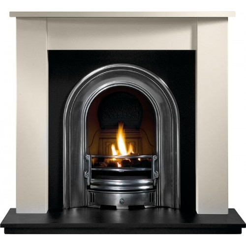 Coronet Highlighted Cast Insert And Gas Fire