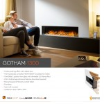 Flame Essence Gotham 1300 Electric Fire