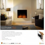 Flame Essence Gotham 750 Electric Fire
