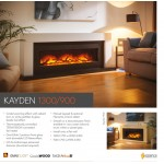 Flame Essence Kayden 1300 Electric Suite