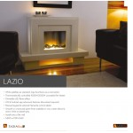 Flame Essence Lazio Freestanding Electric Suite