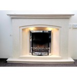 Nevada Arch Marble Fireplace