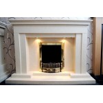 Crown  Marble Fireplace
