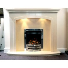 Denton Arch  Marble Fireplace