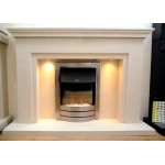 Nevada Marble Fireplace