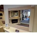 CDM1 Limestone & Travertine Mirror