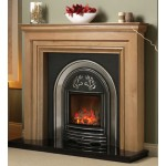 Fireline Chirbury Cast Insert and Gas Fire