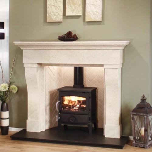 Newman Coruna Medistone Fireplace