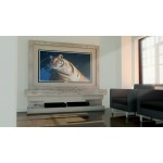 Media TV Unit CDMED 2 Travertine and Limestone