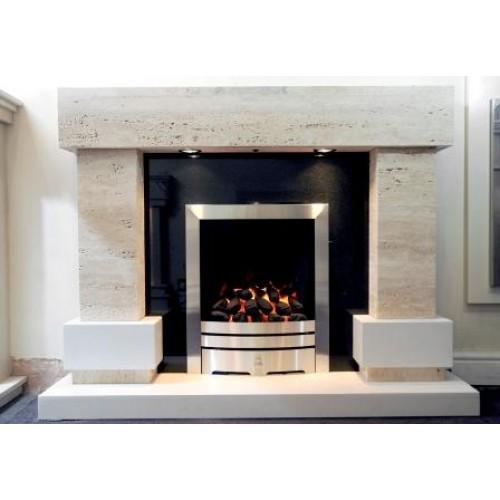 Travertine Fireplaces